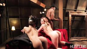 strappato anale porno Jada fuoco lesbica trio